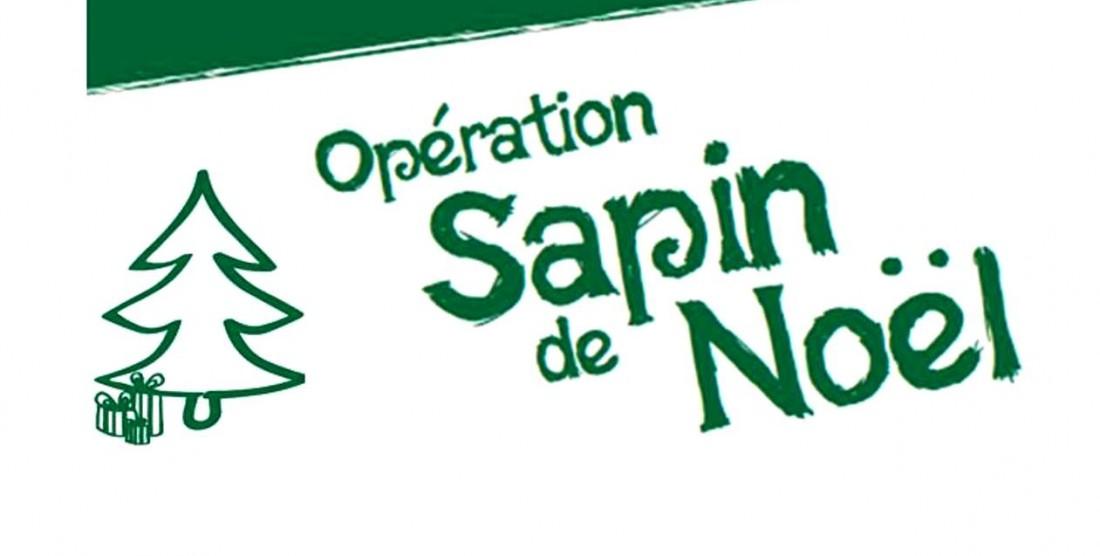 OPERATION SAPIN DE NOËL